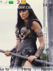 xena warrior princess es el tema de pantalla