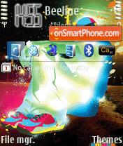 Capture d'écran Chuvak thème