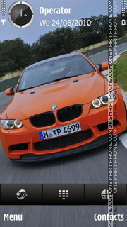 Bmw m3 gts theme screenshot