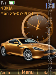 AstonMartin theme screenshot