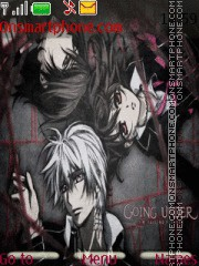 Vampire Knight tema screenshot