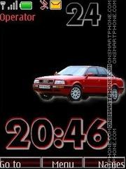 Capture d'écran Audi80 swf thème