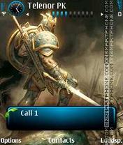 Dark Knight theme screenshot