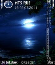 Capture d'écran Night thème