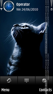 Cat dark tema screenshot