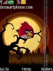 Angry Bird 01 theme screenshot