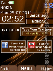 Touch and Type Style theme screenshot