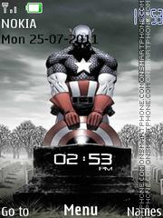 Captain America 07 theme screenshot