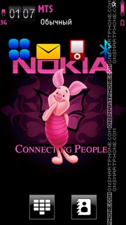 Nokia Piglet theme screenshot
