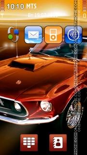 Скриншот темы Ford Mustang 88