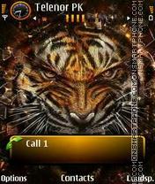 Tiger again theme screenshot
