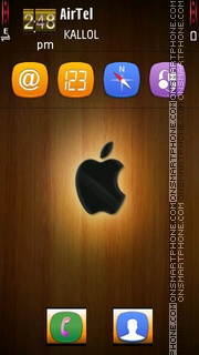 Wood Apple by Kallol theme screenshot