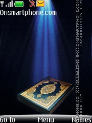 Noble Quran theme screenshot