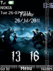 Clock Harry Potter Theme-Screenshot