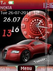 Audi R-zero theme screenshot