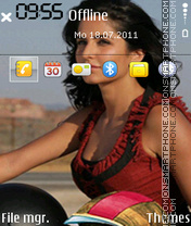 Скриншот темы Katrina Kaif 21