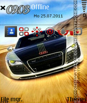Cool Audi Car theme screenshot