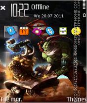 Warcraft Dota 03 theme screenshot