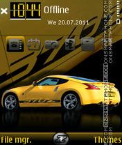 Скриншот темы Nissan 370Z 03