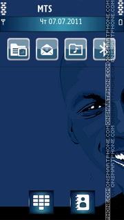 Michael Jordan 02 theme screenshot