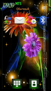 Flower 03 theme screenshot