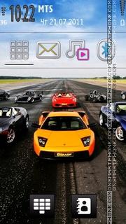 Sport Cars 01 theme screenshot