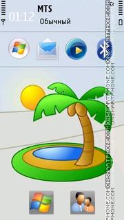 Palm Tree 01 theme screenshot