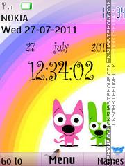 Hoops & Yoyo theme screenshot