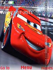 Pixar Cars 2 theme screenshot