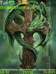 Green Dragon 02 theme screenshot