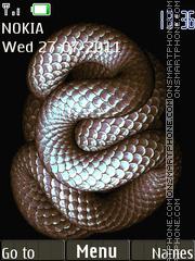 Animated Snake 01 theme screenshot