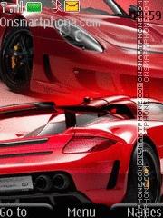 Porsche Carrera Gt 03 es el tema de pantalla