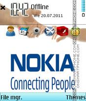 Nokia Hand Theme-Screenshot