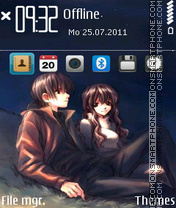 Xinxina theme screenshot