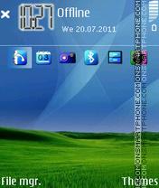 Xp Bliss New tema screenshot