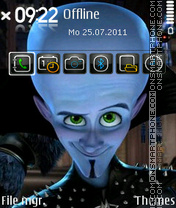 Megamind es el tema de pantalla