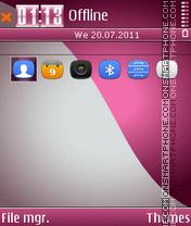 Pink Theme 01 theme screenshot