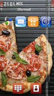 Tasty Pizza theme screenshot