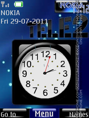Tele2 By ROMB39 tema screenshot