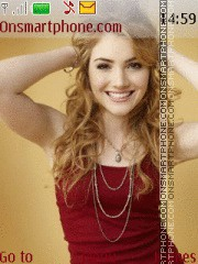 Skyler Samuels theme screenshot