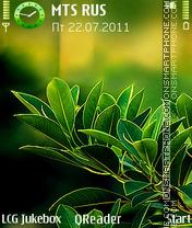 Скриншот темы Happy-Leaves