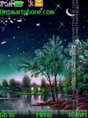 Night 10 theme screenshot