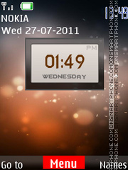 Ovi Vs Android tema screenshot