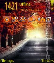 Best Autumn tema screenshot