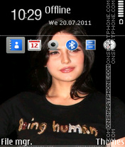 Zarina Khan theme screenshot