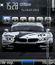 Sports Beast BMW theme screenshot