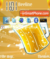 Beer theme screenshot
