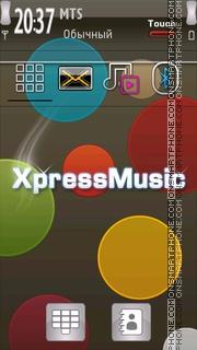 Xpress Music 10 tema screenshot