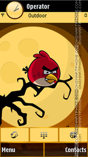 Angry birds theme screenshot