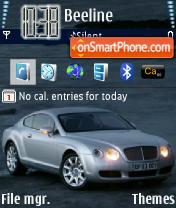 Скриншот темы Bentley 01